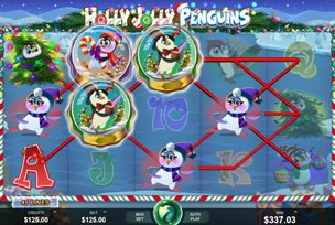 Видеоослот Holly Jolly Penguins